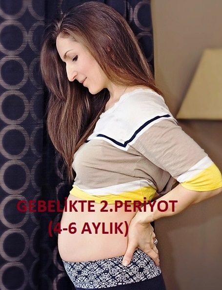 Gebelikte 2. Periyot (4-6 aylık hamile olanlar)