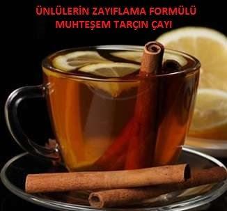 Tarçın Çayı ile İncelme