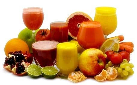 Detoks için Meyve Suyu
