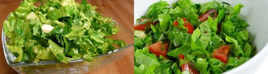 Zayıflatan Salata Diyeti