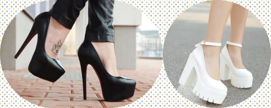 Platformlu Ayakkabıları En İyi Giyme İpuçları