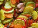 Fırında Sebzelerle Diyet