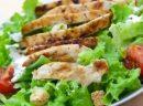 Dukan Usulü Tavuklu Salata